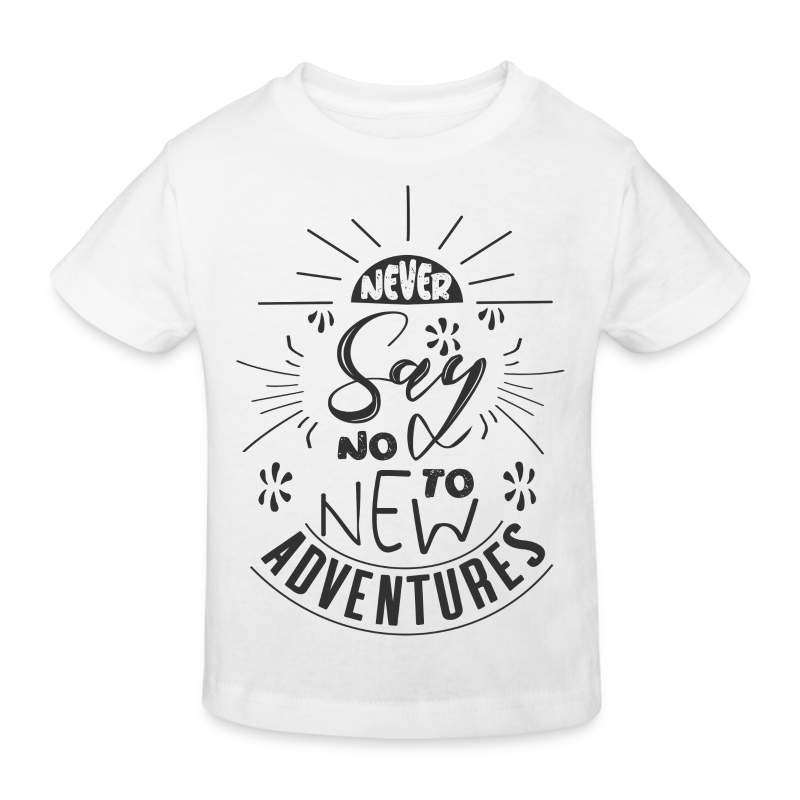 Aventure, dictons et citations marrantes - - T-shirt bio Enfant