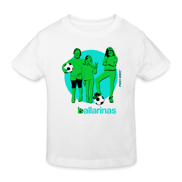Ballarinas - Kinder Bio-T-Shirt