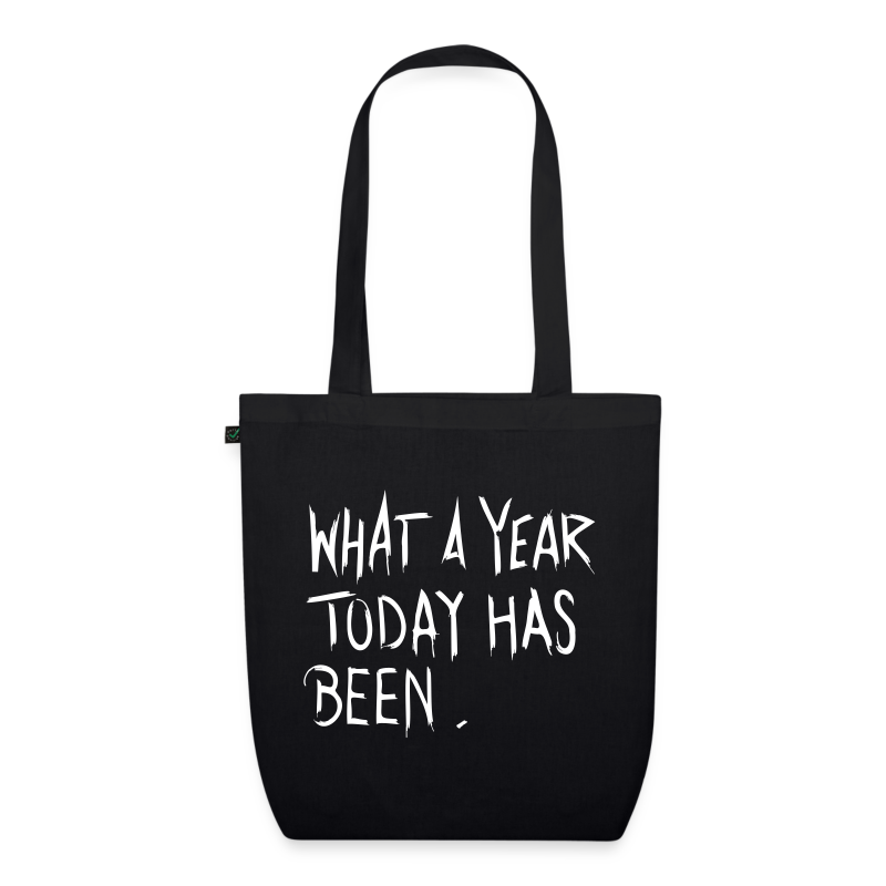 What a year - EarthPositive Tote Bag