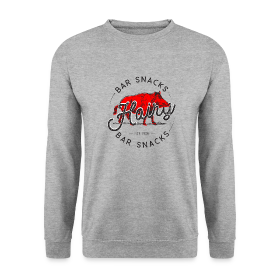 Hairy Bar Snacks Boar Brand - Men's Sweatshirt