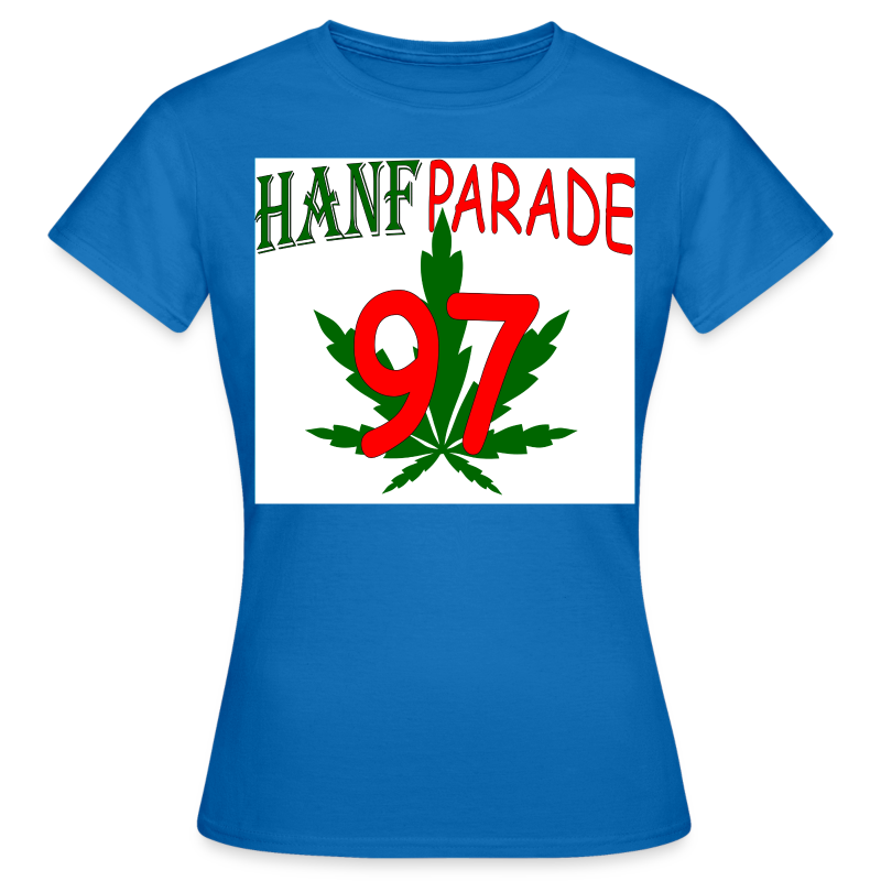 Hanfparade 1997 T Shirt Version 2012 - Frauen T-Shirt