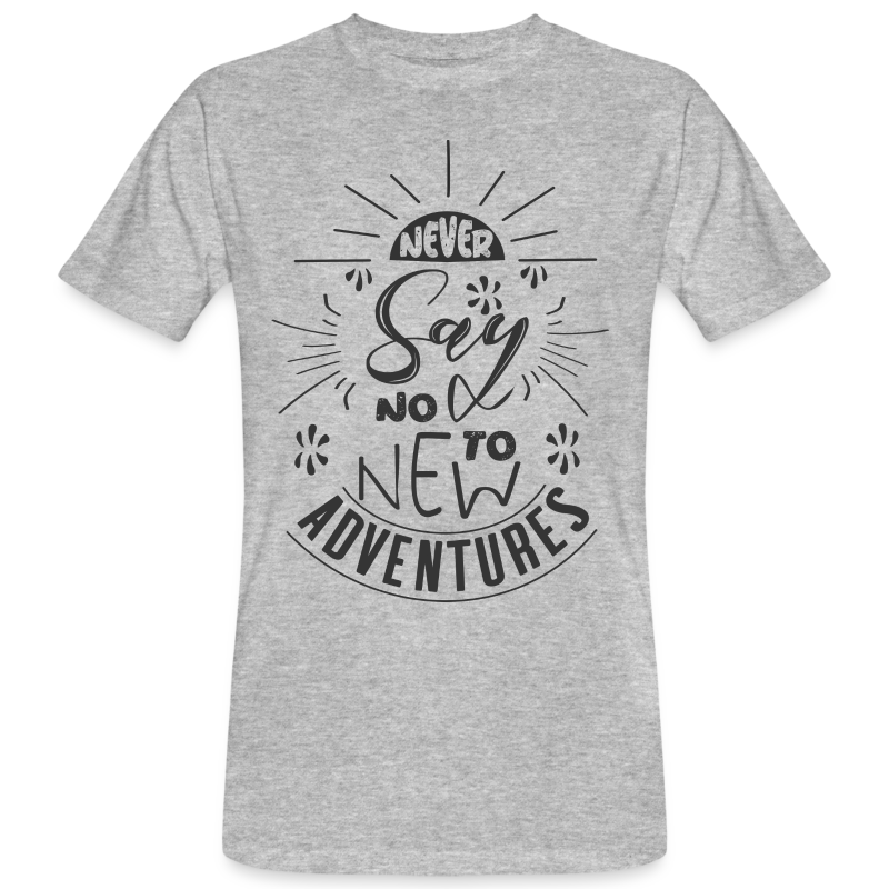 Aventure, dictons et citations marrantes - - T-shirt bio Homme