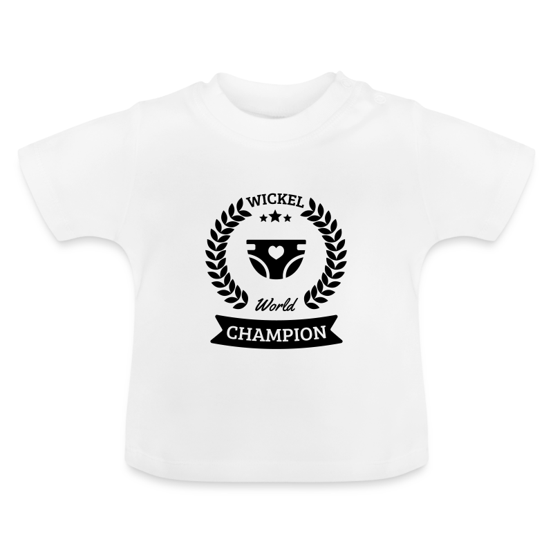 Baby Wickel World Champion - Baby T-Shirt
