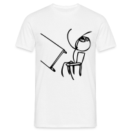 Desk Flipper - Mannen T-shirt