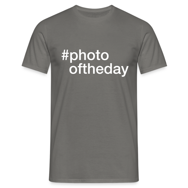 #photooftheday - Herre-T-shirt
