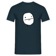 Poker Face 2 color - Mannen T-shirt