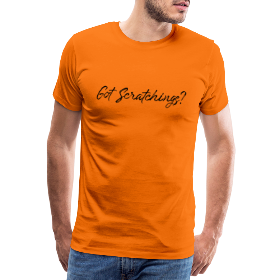 Got Scratchings? - Men's Premium T-Shirt