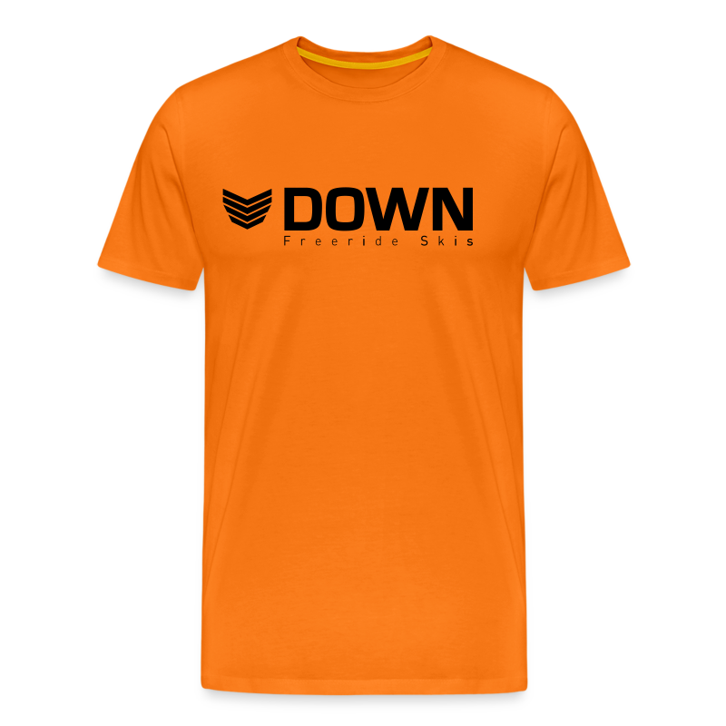 Down Freeride Skis - Men's Premium T-Shirt