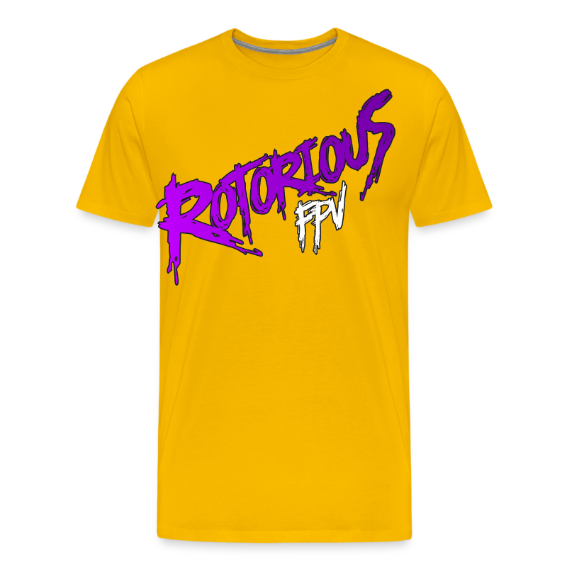 Rotorious FPV OG Logo - Men's Premium T-Shirt