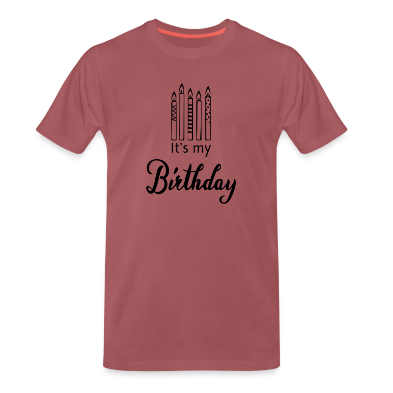 It's my Birthday - Männer Premium T-Shirt
