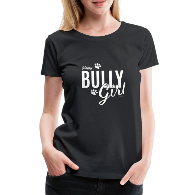 Happy Bully Girl - Französische Bulldogge Frenchie - Frauen Premium T-Shirt