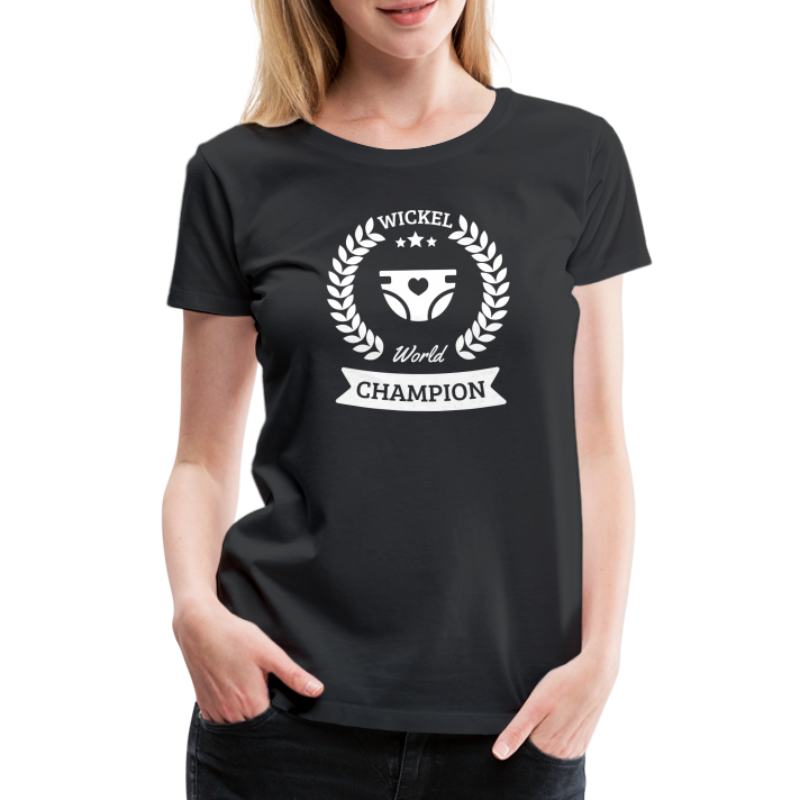 Baby Wickel World Champion - Frauen Premium T-Shirt