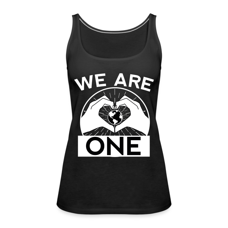 We are One - White - Frauen Premium Tank Top
