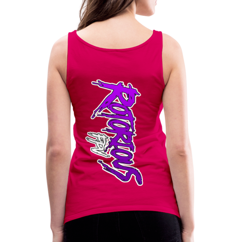 Rotorious FPV OG Logo Vertical - Women's Premium Tank Top