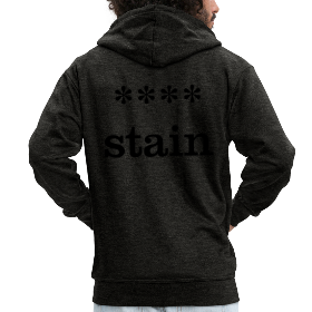 xxxx-stain - Men's Premium Hooded Jacket