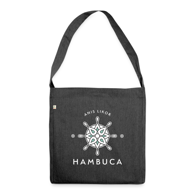 Hambuca - Black Label - Schultertasche aus Recycling-Material