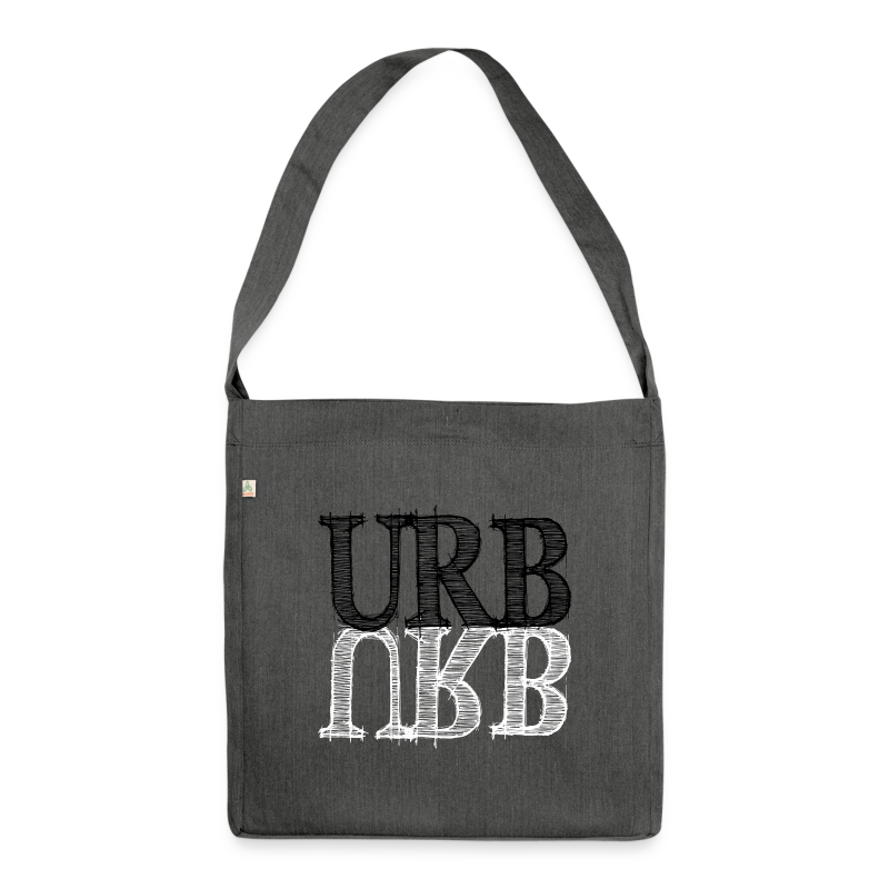 URB URB - Schultertasche aus Recycling-Material
