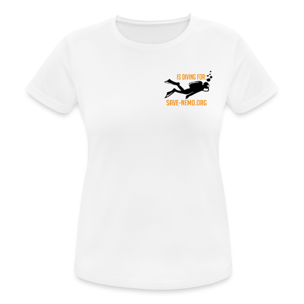 Premium Diving Shirts No. 1 - Frauen T-Shirt atmungsaktiv
